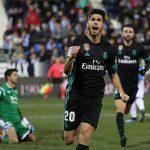 Asensio ghi bàn phút chót, Real đặt một chân vào bán kết Cup Nhà vua