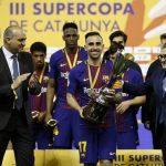 Thắng trong loạt luân lưu, Barca giành Siêu Cup Catalonia