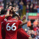 Liverpool lập chiến tích bất bại trên sân nhà ở Anh mùa này