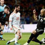 Messi lại vắng mặt, Argentina thảm bại 1-6 trước Tây Ban Nha