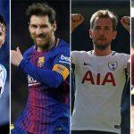Kane hơn Messi bốn điểm trên đường đua Chiếc Giày Vàng