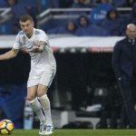 Toni Kroos: 'Real Madrid chỉ nên đặt mục tiêu vào top bốn'