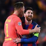 Messi và Ter Stegen nguy cơ lỡ trận gặp Sevilla
