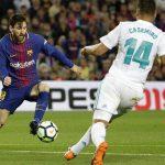 Barca và Real bất phân thắng bại trên sân Nou Camp