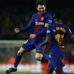 Suarez và Messi ghi tổng cộng 5 bàn, Barca đại thắng