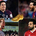 Messi gia nhập nhóm dẫn đầu cuộc đua Giày vàng
