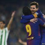Messi xếp sau Kane, Cavani, Immobile trong cuộc đua Giày vàng