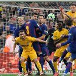 Messi sút phạt ghi bàn, Barca đánh bại Atletico