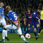 Messi ghi bàn quyết định, Barca vào bán kết Cup Nhà vua