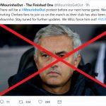 CĐV Man Utd đòi sa thải Mourinho