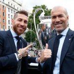 Sergio Ramos: 'Di sản của Zidane sẽ không thể lụi tàn'
