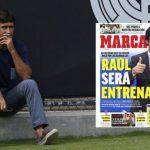 Raul chuẩn bị dẫn dắt đội trẻ Real Madrid