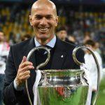 Zidane hạnh phúc khi kiến tạo nên lịch sử cho Real