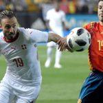 Tây Ban Nha hòa Thụy Sĩ trước ngày khởi tranh World Cup