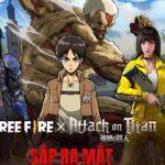 Free Fire công bố hợp tác với anime nổi tiếng bậc nhất Attack on Titan