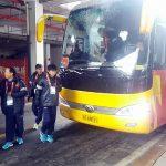 U23 Việt Nam đến sân, sẵn sàng thi đấu