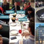 Bốn sao Ngoại hạng Anh trộm taxi ở Barcelona