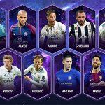 Real áp đảo trong đội hình tiêu biểu của UEFA