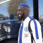 Bakayoko đổi màu tóc để mừng bàn đầu tiên ghi cho Chelsea