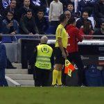 Hai cha con cùng bị đuổi trong một trận đấu ở La Liga
