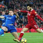 Salah lập cú đúp, Liverpool thắng ngược Leicester