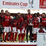 Arsenal vô địch Emirates Cup dù thua Sevilla
