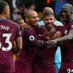 Aguero ghi hat-trick, Man City vượt Man Utd