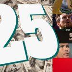 25 VĐV kiếm tiền giỏi nhất lịch sử thể thao thế giới