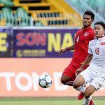 U21 Việt Nam thua Thái Lan trên sân nhà