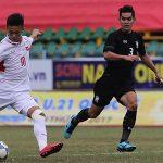 U19 Việt Nam vuột chiến thắng trước U21 Thái Lan