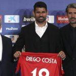 Diego Costa chuẩn bị thi đấu cho Atletico