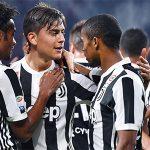 Juventus thắng đậm, nhưng chưa thể độc chiếm ngôi đầu Serie A