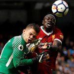 Sadio Mane bị y án treo giò ba trận vì đạp mặt thủ môn Man City