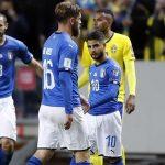 Italy băn khoăn giữa sơ đồ 4-2-4 và 3-4-3 khi tái đấu Thụy Điển