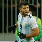 Aguero bị ngất trong trận đấu với Nigeria