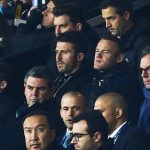 Rooney trở lại Old Trafford để xem Man Utd thi đấu