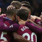 Man City thắng sát nút, tái lập cách biệt năm điểm với Man Utd
