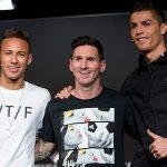 Messi và Neymar có giá trị gấp 2,5 lần Ronaldo
