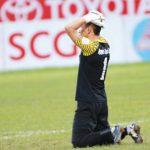 Thủ môn 'biếu' đối thủ bàn thắng, Thanh Hoá thua Quảng Ninh
