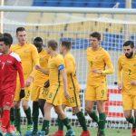 U23 Australia có ba điểm trước khi đối đầu U23 Việt Nam