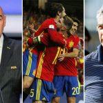 Tây Ban Nha đối diện nguy cơ bị FIFA loại khỏi World Cup 2018