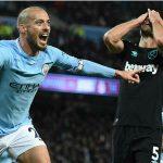 Man City tái lập khoảng cách tám điểm với Man Utd