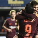 Messi, Suarez cùng lập công, Barca tái lập cách biệt ở La Liga