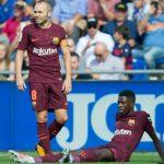 HLV của Barca trách Dembele non nớt dẫn đến chấn thương nặng