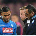 HLV Sarri: 'Napoli thua ngược Man City vì mất hậu vệ trái'