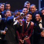 Messi có nhiều phiếu bầu nhất, nhưng Real áp đảo đội hình tiêu biểu