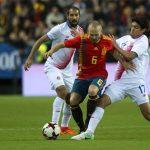 Tây Ban Nha trút mưa bàn thắng