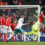 Thụy Sỹ vượt qua Bắc Ireland để tới World Cup 2018