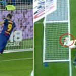 Trọng tài được bênh vực sau khi tước bàn thắng hợp lệ của Barca