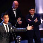 Maradona: 'Tôi đau khổ khi trao giải The Best cho Ronaldo'